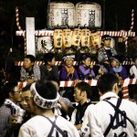 The Kakunodate yama-butsuke festival - a local summer festival in Akita, Northern Japan