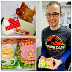 JETAA President Mark made a bear-themed bento.